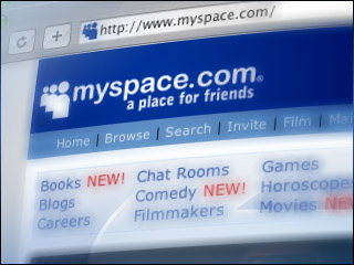 how to i set up a myspace for a business